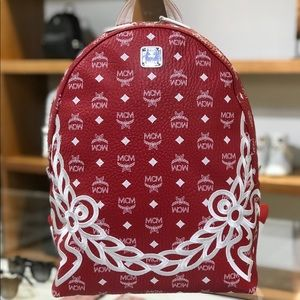 ❤️Brand New MCM Laurel Dietrich Monogram Backpack